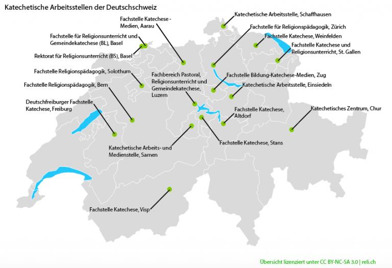 Katechetische Fachstellen in der Deutschschweiz